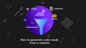 How to generate sales leads from a website